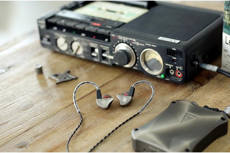 徠声R8入耳式HiFi耳机